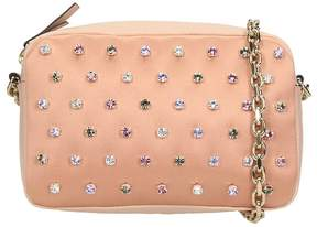 RED Valentino Pink Satin Shoulder Bag