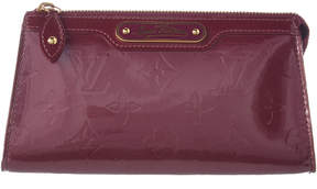 Louis Vuitton Purple Monogram Vernis Leather Trousse Cosmetic Pouch