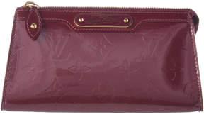 Louis Vuitton Purple Monogram Vernis Leather Trousse Cosmetic Pouch