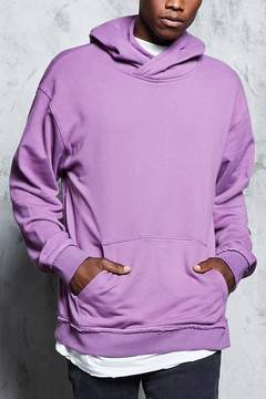 21men 21 MEN French Terry Crossover Hoodie