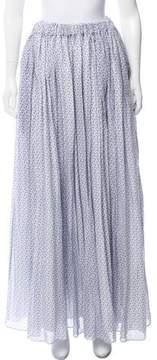 Emilia Wickstead Printed Maxi Skirt