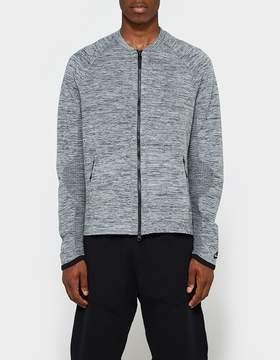 Nike Tech Knit Jacket in Carbon Heather