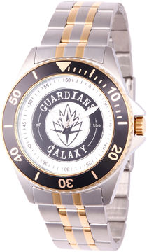 Marvel Guardian Of The Galaxy Mens Two Tone Strap Watch-Wma000121