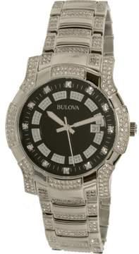 Bulova Men's 96B176 Crystal stainless-steel Watch, 42millimeters