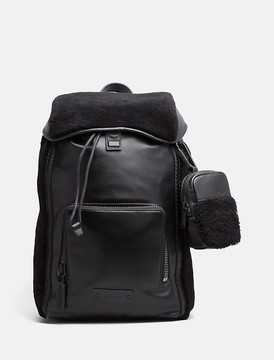 Calvin Klein 48 Hour Leather Backpack