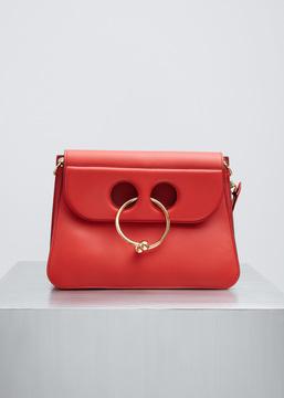 J.W. Anderson scarlet medium pierce bag