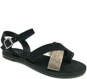 Bamboo Black Fate Sandal - Women