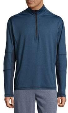 Hawke & Co Quarter-Zip Long Sleeve Shirt