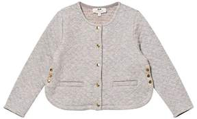 Cyrillus Grey Quilted Jacket