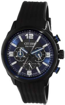 Citizen Men's CA4385-12E Black Rubber Japanese Quartz Dress Watch
