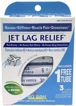 Jet Lag Relief by Boiron (3pack Pellets)