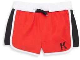 Karl Lagerfeld Little Boy's & Boy's Elasticized Swimming Shorts