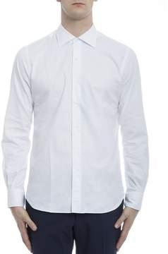 Orian White Cotton Shirt