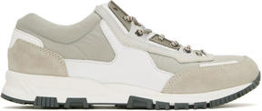 Lanvin Grey Running Sneakers