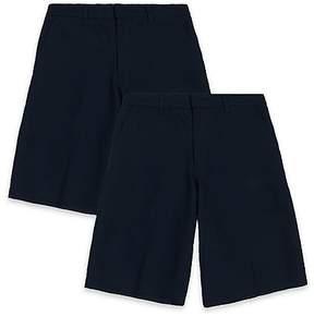 Marks and Spencer 2 Pack Boys' Regular Leg Shorts