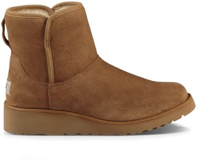 Sole Society Kristin Short Suede Boot
