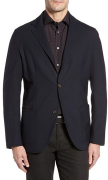 Luciano Barbera Men's Reversible Travel Classic Blazer