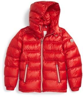 Moncler Boy's 'Gaston' Hooded Down Jacket