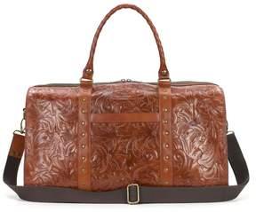 Patricia Nash Milano Tooled Leather Weekender
