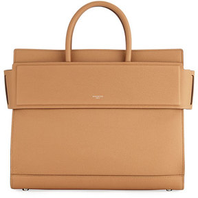 Givenchy Horizon Medium Textured Leather Tote Bag