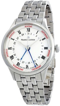 Maurice Lacroix Masterpiece Cinq Aiguilles White Dial Men's Watch