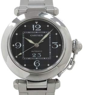 Cartier Pasha C W31053M7 Stainless Steel Automatic 35mm Mens Watch