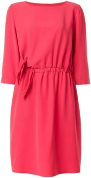 Emporio Armani tie detail shift dress