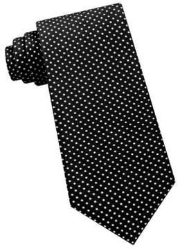 Lord & Taylor The Mens Shop Polka Dot Silk Tie