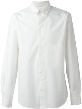 Lemaire detachable collar shirt
