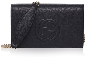 Gucci Soho Pebbled Leather Crossbody Bag - ONE COLOR - STYLE