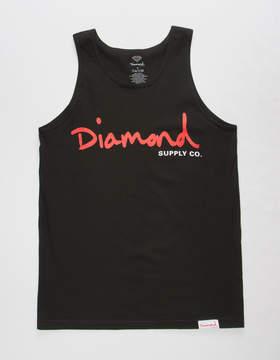 Diamond Supply Co. OG Script Mens Tank Top