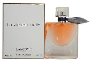 La vie est belle by Lancome Vanilla Eau De Parfum Women's Spray Perfume - 1.7 fl oz