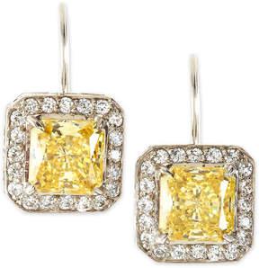 FANTASIA Princess-Cut Dangle & Drop Earrings, Canary