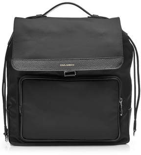 Dolce & Gabbana Backpack with Leather