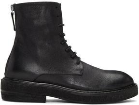 Marsèll Black Parrucca Lace-Up Boots