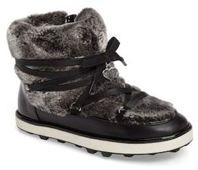 Stuart Weitzman Ariana Faux Fur Lined Snow Boot (Toddler, Little Kid & Big Kid)