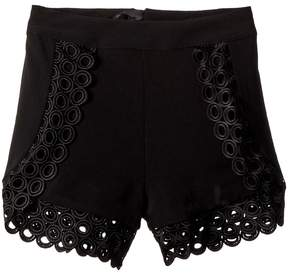 Bardot Junior Circular Trim Shorts Girl's Shorts
