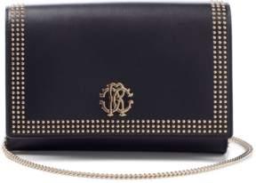 Roberto Cavalli Nappa Leather Shoulder Bag
