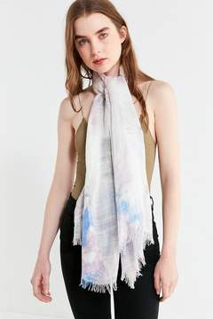 Urban Outfitters Lightweight Woven Tie Dye Scarf