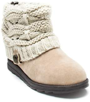 Muk Luks Patti Women's Cable Knit Cuff Boots