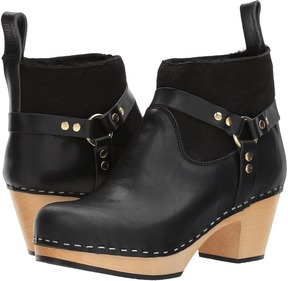 Swedish Hasbeens Rivet Boot Women's Pull-on Boots