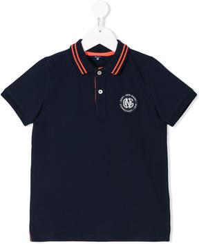 Gant Kids crest logo polo shirt