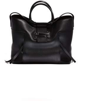 Tod's Large Double T Bag Black