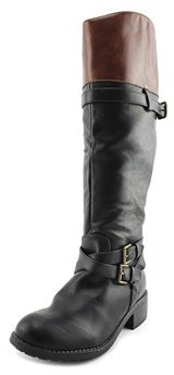 Rampage Ram-britney W Round Toe Synthetic Knee High Boot.