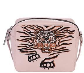 Kenzo Pink Embroidered Cross-body Bag