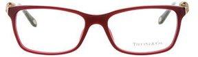 Tiffany & Co. Square Embellished Eyeglasses w/ Tags