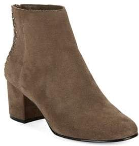 424 Fifth Esme Studded Suede Ankle Boots