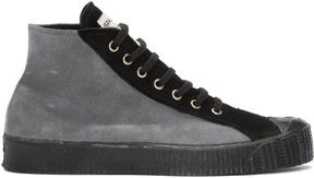 Comme des Garcons Grey Spalwart Edition Sneakers