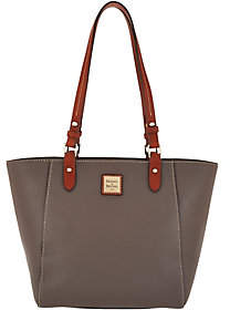 Dooney & Bourke As Is Pebble Leather Tote Handbag- Janie - ONE COLOR - STYLE