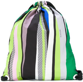 No Ka' Oi Olympic print drawstring bag